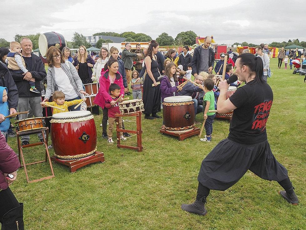 Fulford show drummers.jpg