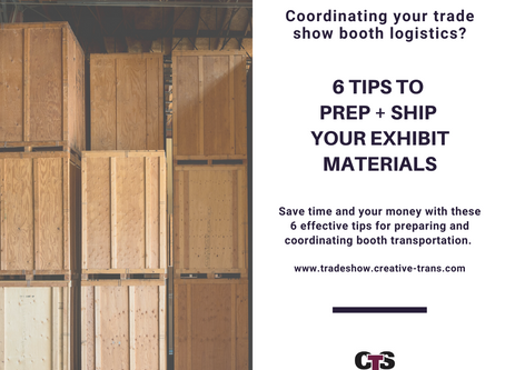 6 Tips to Prep + Ship Your Exhibit