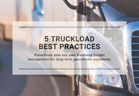 5 Truckload Best Practices