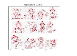 redwork sock monkey_edited