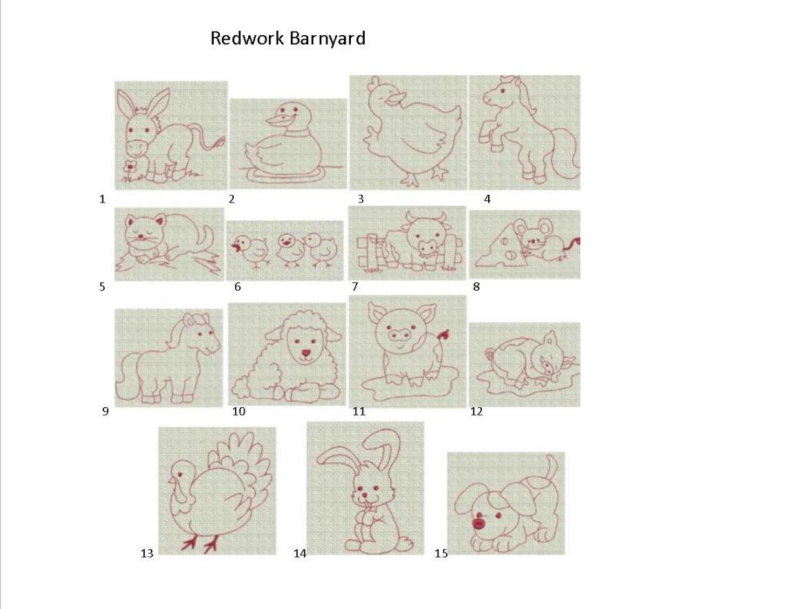 redwork barnyard_edited