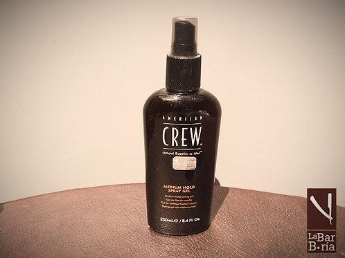 Spray Gel de fijación media para hombres