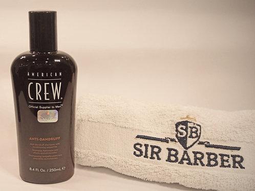 Shampoo anticaspa + control del sebo con propiedades acondicionadoras