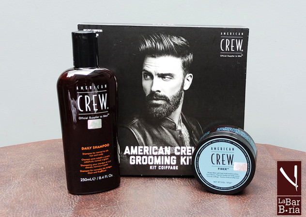 Amercian Crew Grooming Kit