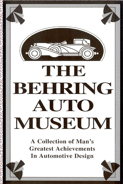 The Behring Auto Museum