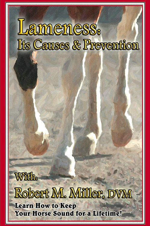 Lameness - Its Causes & Prevention