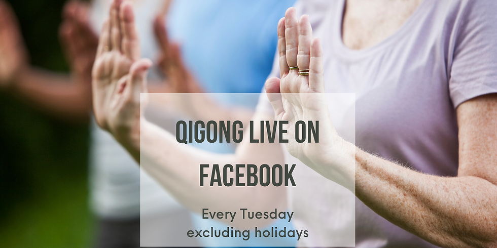 Qigong LIVE on Facebook