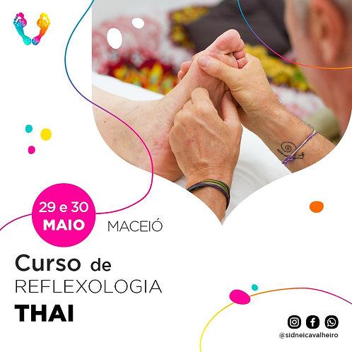 Curso de Reflexologia Thai - Maceió 29 e 30 de Maio