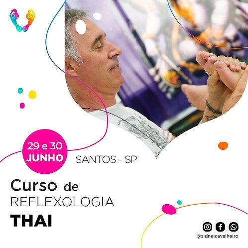 Curso de Reflexologia Thai - SANTOS 29 e 30 de Junho