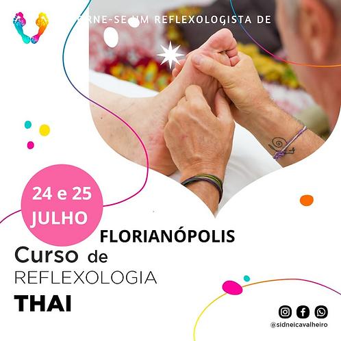 Curso de Reflexologia Thai - Florianópolis 24 e 25 de Julho