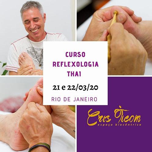 Curso Reflexologia Thai RJ 21 e 22/03/2020