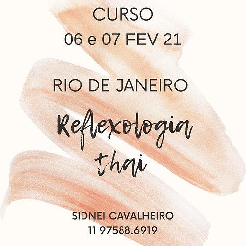 Curso Reflexologia Thai - RJ - 06 e 07 de Fevereiro
