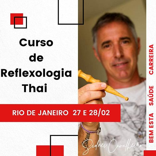 Curso de Reflexologia Thai - RJ 27 e 28 de Fevereiro