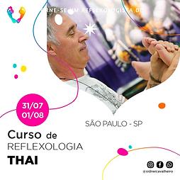 Curso de Reflexologia Thai - SP 31 de Julho e 01 de Agosto