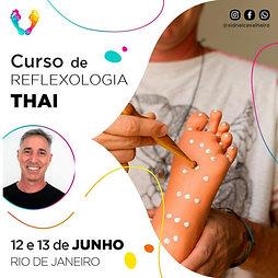 Curso de Reflexologia Thai - RJ 12 e 13 de Junho