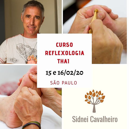 Curso Reflexologia Thai SP 15 e 16/02/2020