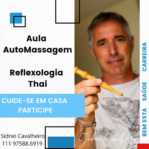 Aula Online de Reflexologia Thai - (até 6x)