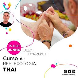 Curso de Reflexologia Thai - MG 19 e 20 de Junho