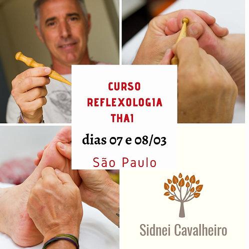 Curso Reflexologia Thai SP 07 e 08/03/2020