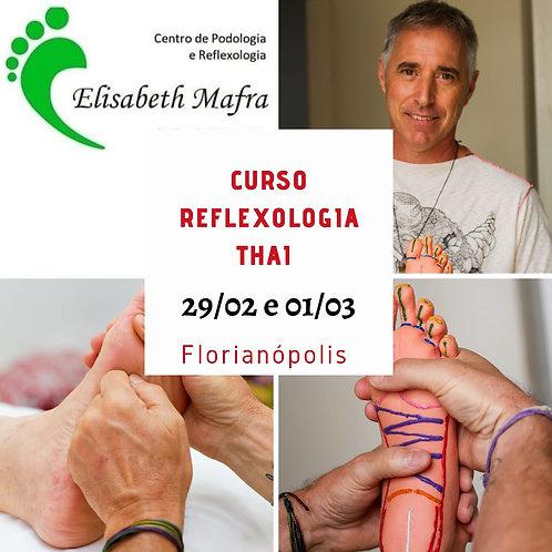 Curso Reflexologia Thai Floripa 29 e 01/03/2020