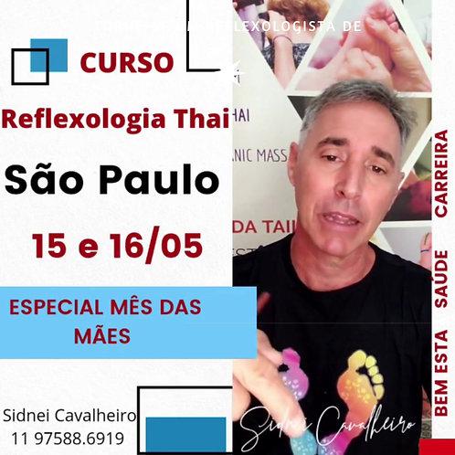 Curso de Reflexologia Thai - SP 15 e 16 de Maio