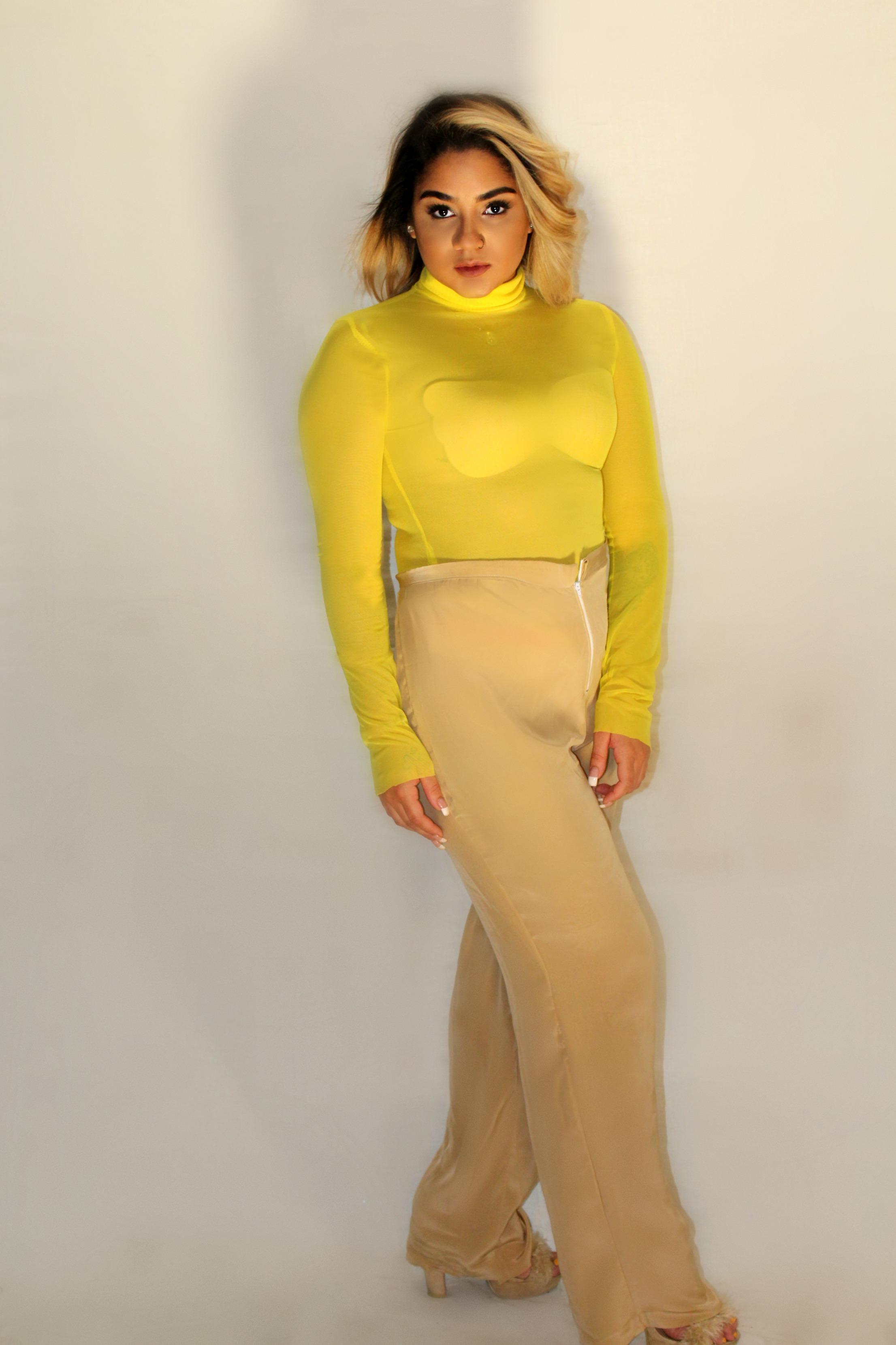 KIiana Yellow Mesh