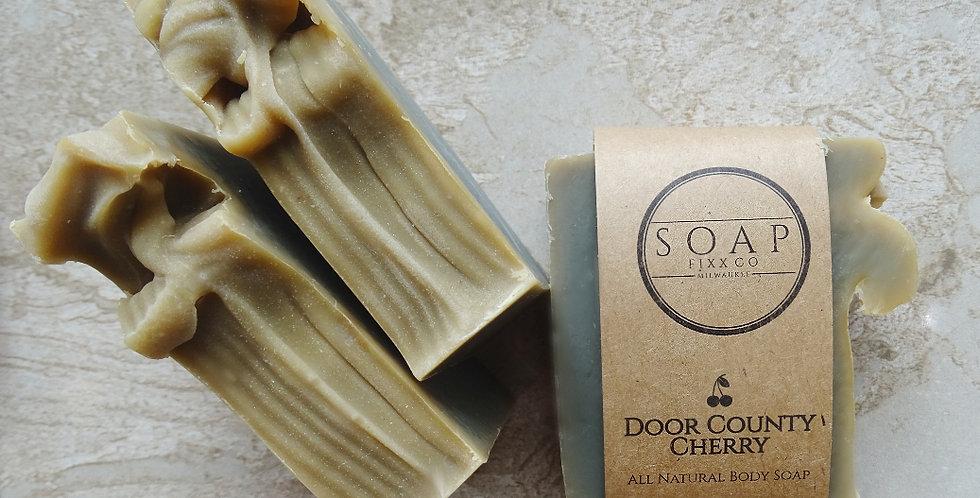 Door County Cherry soap