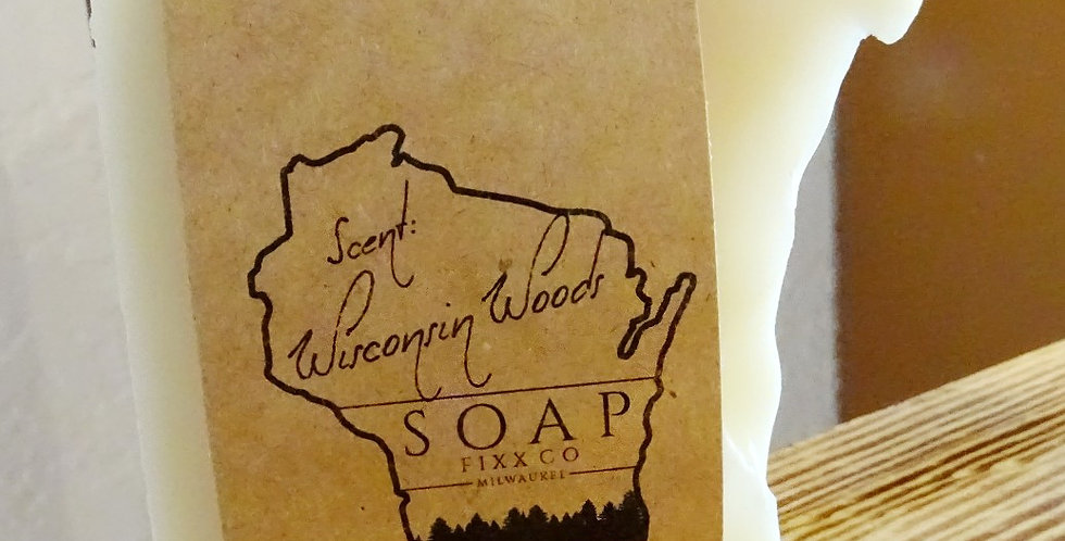 Wisconsin Woods scented soap