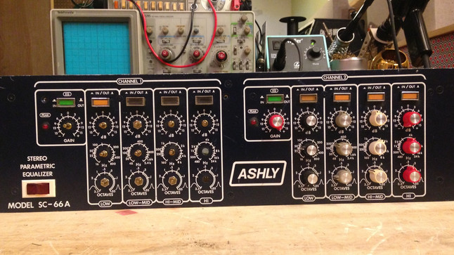 Ashly SC-66A EQ