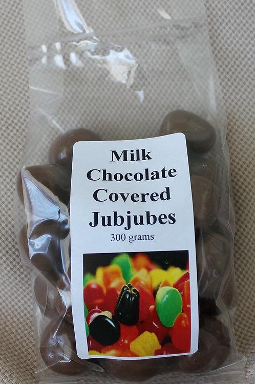Chocolate Covered Jubjubes