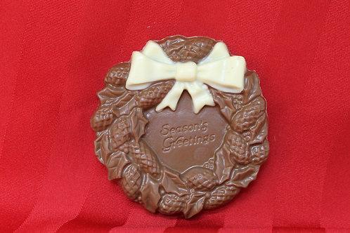 Chocolate Christmas Wreath