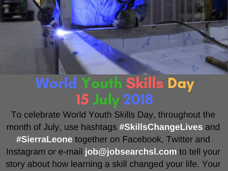 To recognise World Youth Skills Day, tell us how learning a skill changed your life!