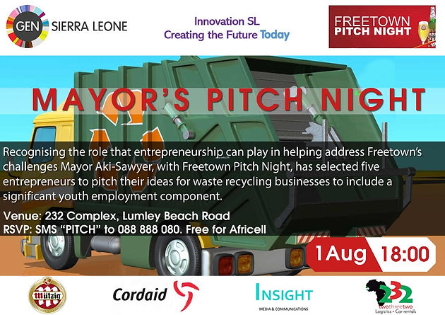 See you at the Mayor's Pitch Night Special!