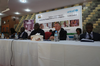 H.E The President of Sierra Leone calls for community ownership of the Recovery Priorities to make t