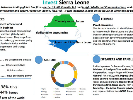 Invest Sierra Leone 2017 - the facts & figures