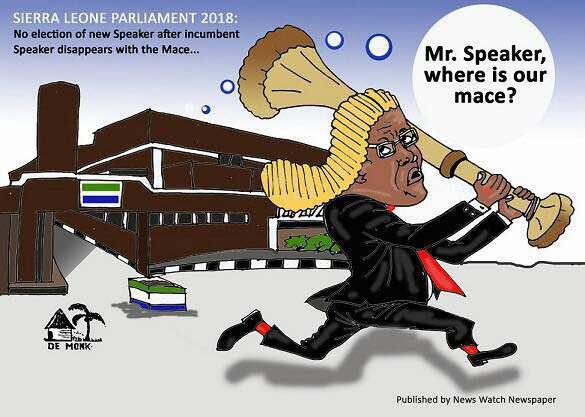 Mr Speaker where is our mace?