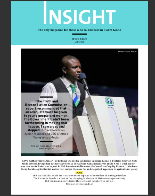 New issue of Insight Magazine