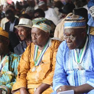 The launch of the President's Recovery Priorities in Magburaka