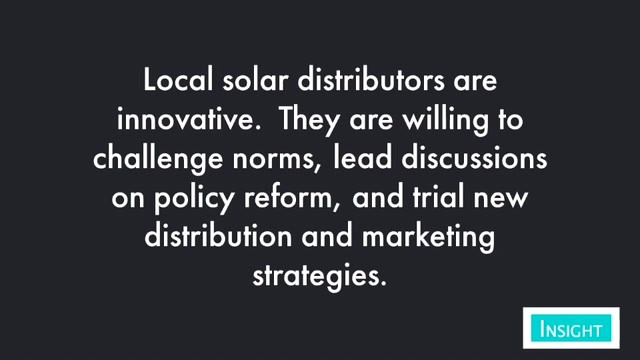 Better Business Opportunities in the Solar Sector