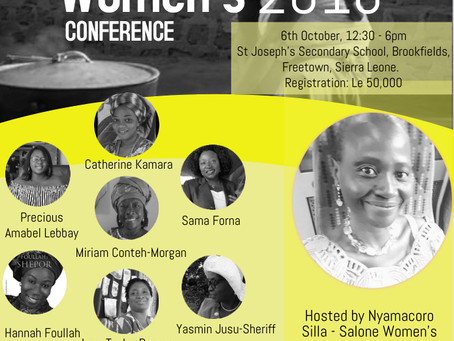The Salone Women's Conference brings a holistic approach to overcoming barriers to change