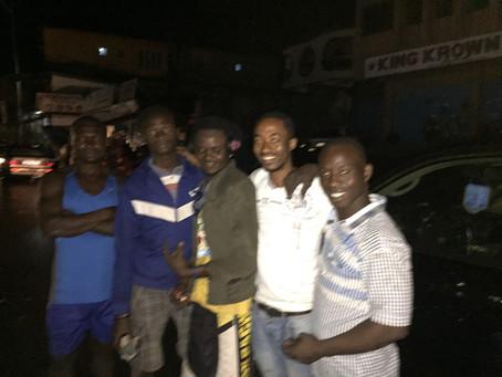 The kindness of strangers in Freetown, Sierra Leone