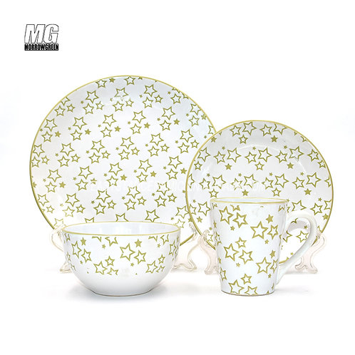 Chinese supplier ceramic stoneware dinner plate sets