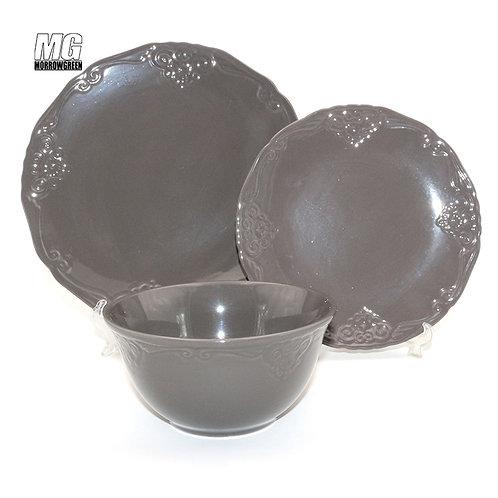 China wholesaler stoneware dinnerware set dinner set plate set