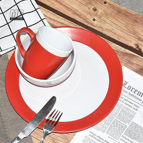 HENAN yisida ceramic custom printed porcelain stoneware glazed dinnerware