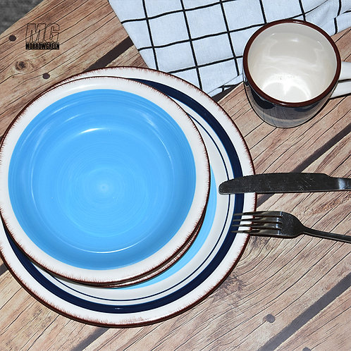 16 pcs Ceramic porcelain hand-painted dinner set