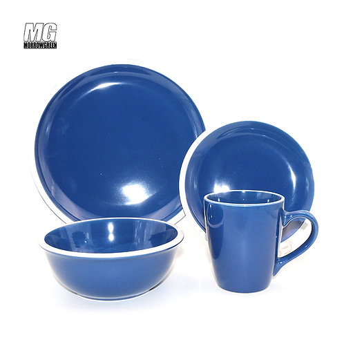 16 pcs ceramic dinnerware set dinner set plate and bowl set