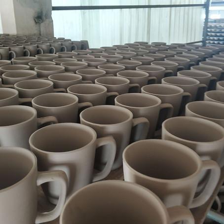 The making process of ceramic tableware