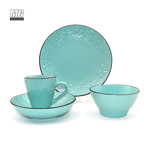 16 pcs ceramic dinnerware set dinner set plate and super bowl 2019