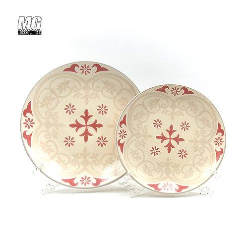 Ceramic type dinner plate