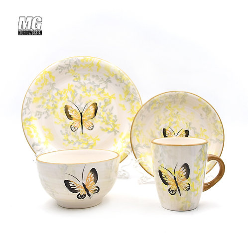 Hot sale products luxury ceramic dinnerware sets tableware